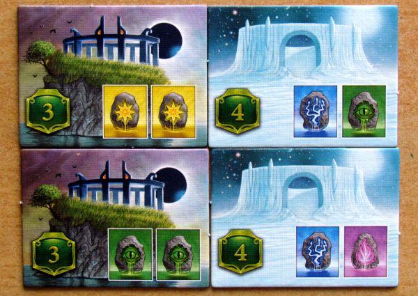 Asgard - kartičky