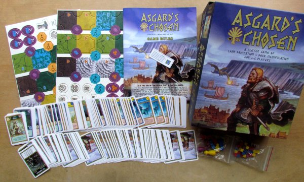 Asgard´s Chosen - packaging