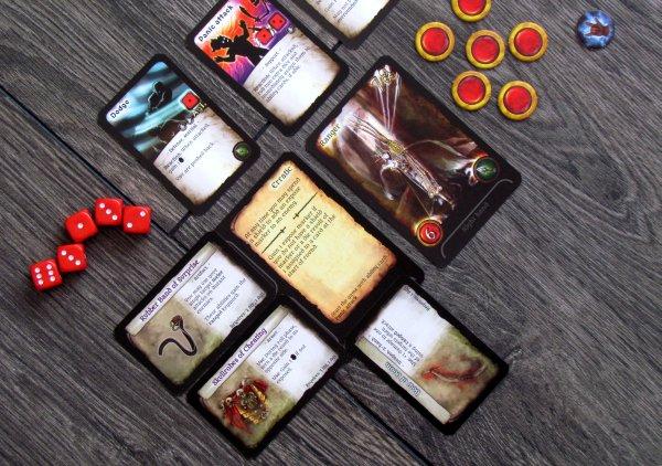 Assault on Doomrock - rozehraná hra