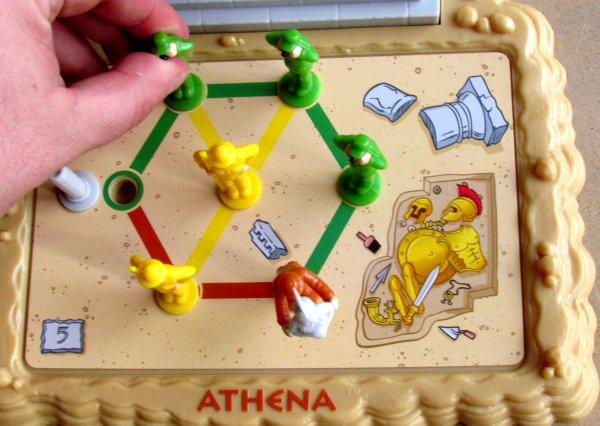 Athéna - průběh řešení