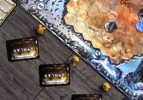Athlas: Duel for Divinity - připravená hra