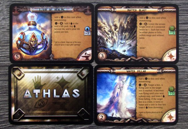 Athlas: Duel for Divinity - karty