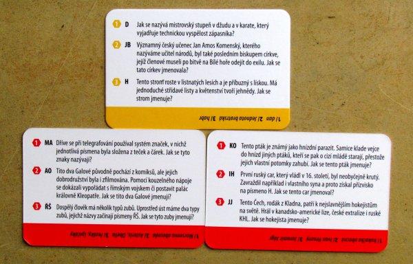 AZ Kvíz Junior - karty