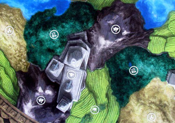 Aztlán - detail herního plánu