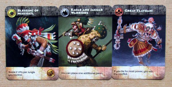 Aztlán - karty