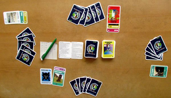 Backpacker - rozehraná hra