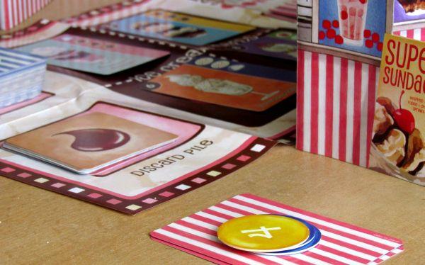 Banana Split Card Game - game in progress