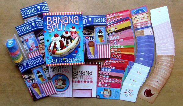 Banana Split Card Game - packaging