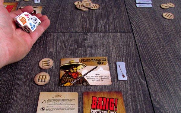 Bang! Kostková hra - rozehraná hra