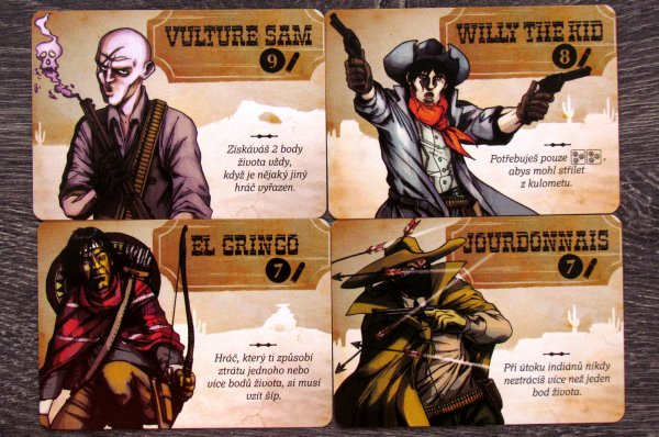 Bang! Kostková hra - karty