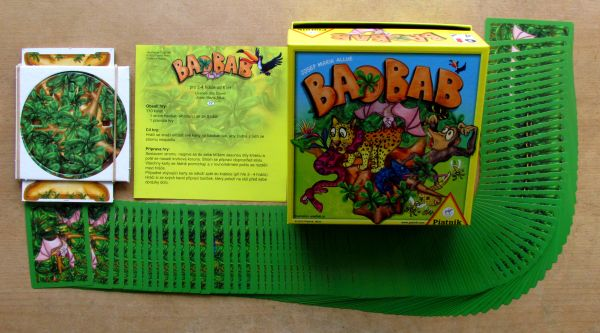 Baobab - balení