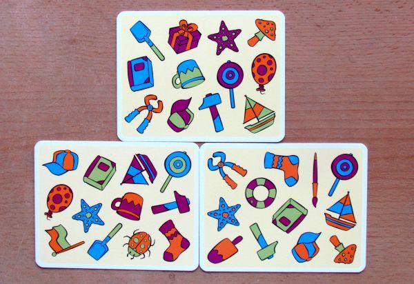 Barvínek - karty