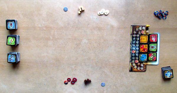 Basilica - připravená hra