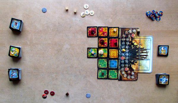 Basilica - rozehraná hra