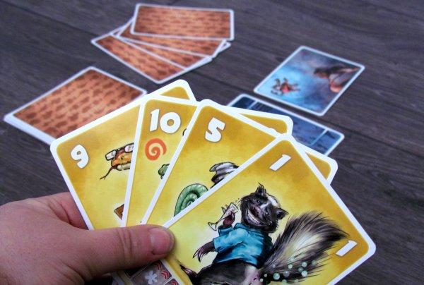 Beasty Bar - připravená hra