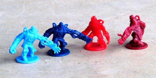 Bioshock Infinite: Siege of Columbia - figurky