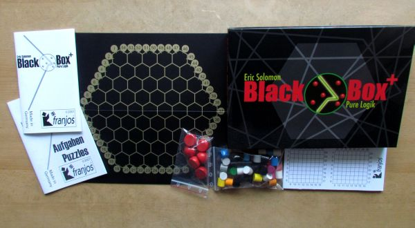 Black Box + - packaging