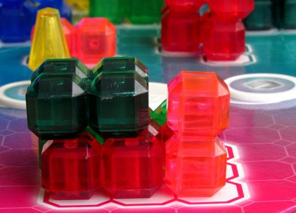 Bloqs - rozehraná hra