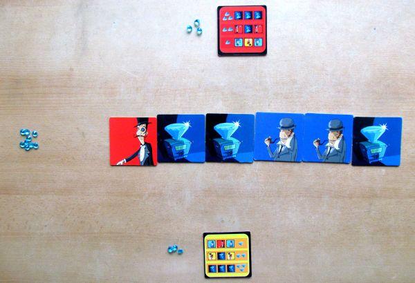 Blue Lion - připravená hra
