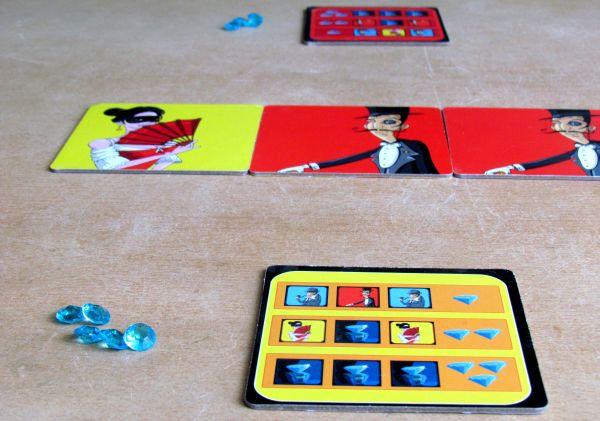 Blue Lion - rozehraná hra