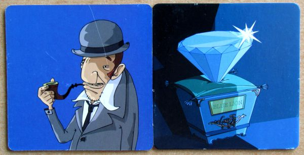 Blue Lion - kartičky