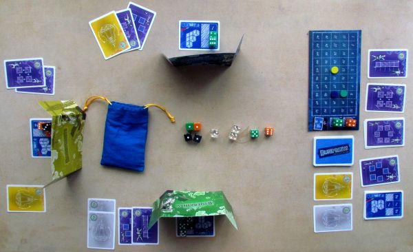 Blueprints - rozehraná hra
