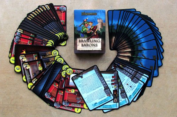 Brawling Barons - packaging