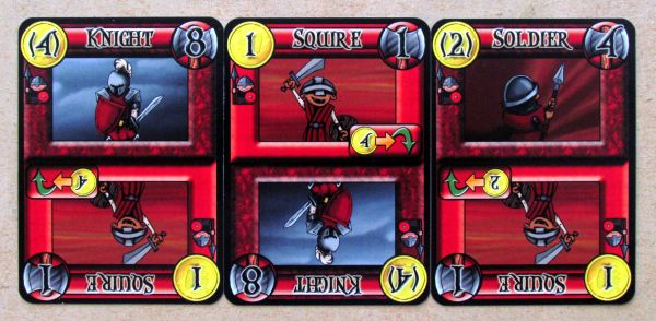 Brawling Barons - cards