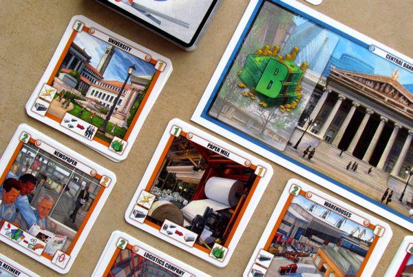 Briefcase - připravená hra