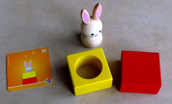 Bunny Boo - připravený hlavolam