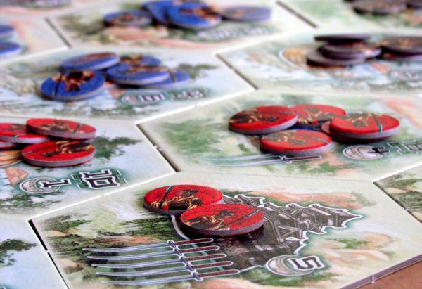 Bushido - připravená hra