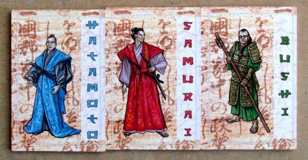 Bushido - kartičky rolí