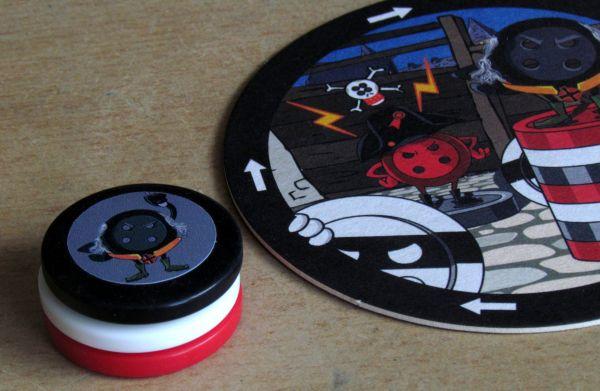 Button Up - rozehraná hra