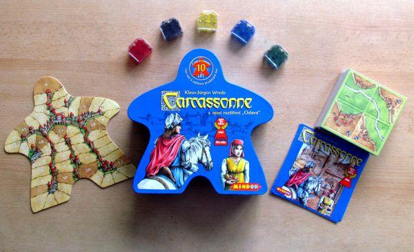 Carcassonne Jubilejní edice - balení