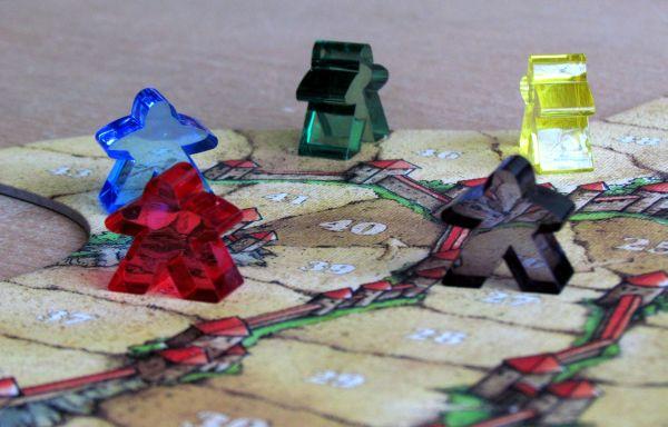 Carcassonne Jubilejní edice - rozehraná hra