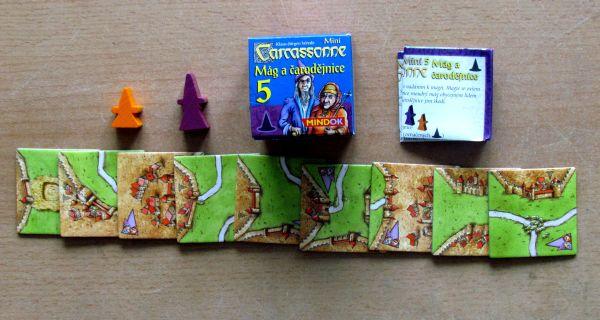 Carcassonne Mini - balení Mág a čarodějnice