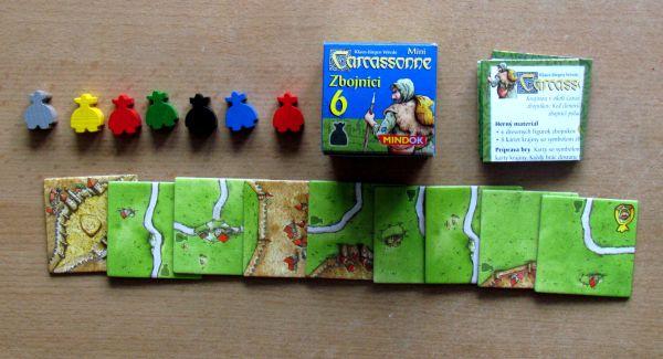 Carcassonne Mini - balení Zbojníci