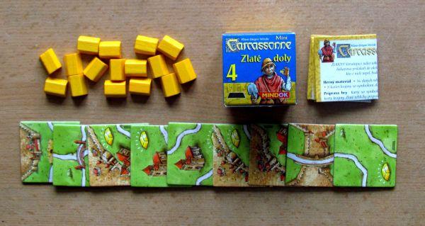 Carcassonne Mini - balení Zlaté doly