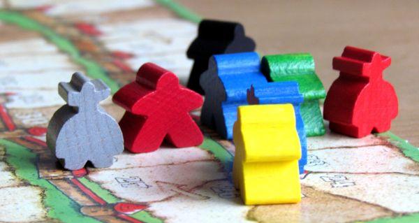 Carcassonne Mini - rozehraná hra