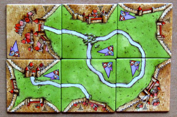 Carcassonne Mini - kartičky
