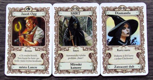 Zeměplocha: Čarodějky - karty
