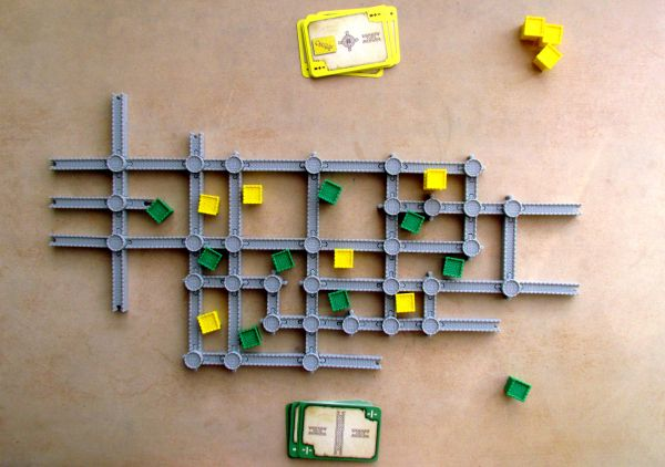 Castellan - game in progress