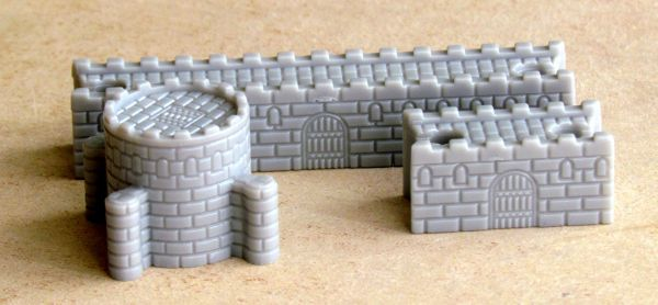 Castellan - pieces