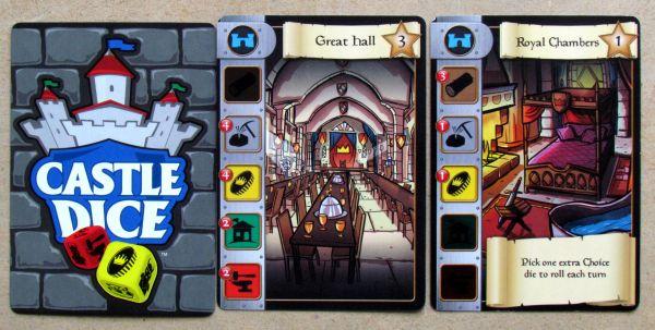 Castle Dice - karty