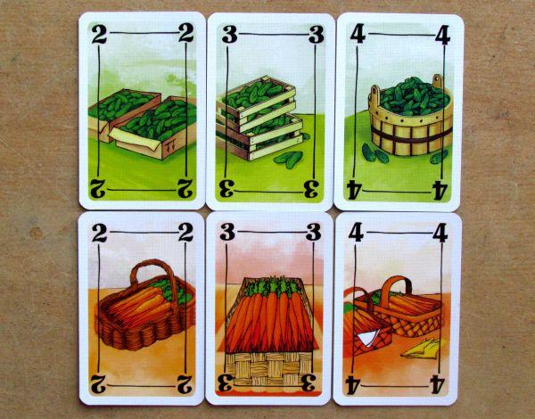 Central Market - karty
