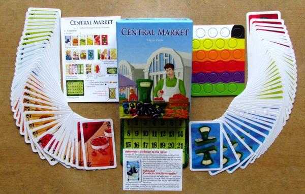 Central Market - balení