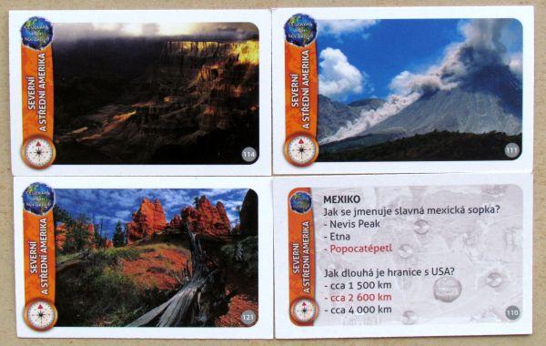 Cestování s Jiřím Kolbabou - karty