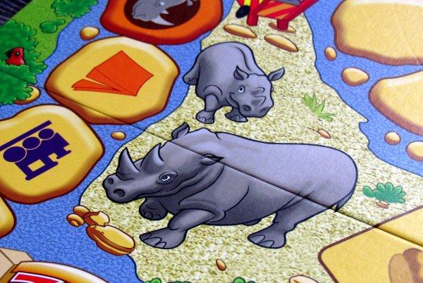 Cestujeme po zoo - detail herního plánu