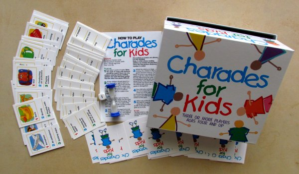 Charades for Kids - balení