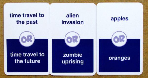 Choose One! - karty